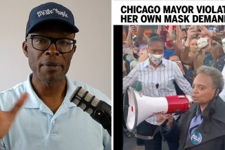 Chicago Mayor Lightfoot Justifies Defying Her OWN Mask Demands!