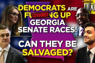 🚨Democrats Are Headed For Disaster in Georgia Senate Run-off Election, Can They Turn it Around?