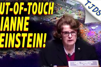 DIANNE FEINSTEIN'S Out-Of-Touch Legislation During Economic Crisis!