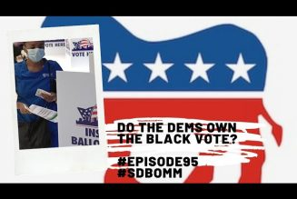 Do the DEMS own the Black Vote? #Episode95 #SDBOMM #Icecube #Election2020 #Reparations #CWBA