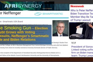 Election Doubt Grows with Voting Lawsuits, Neffenger's Smartmatic Role – Biden Relations