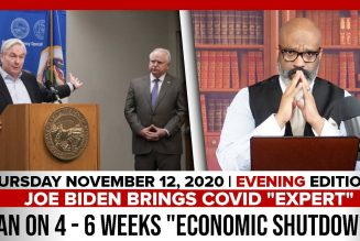 JOE BIDEN BRINGS COVID EXPERT PLAN ON 4 – 6 WEEKS ECONOMIC SHUTDOWN | The Stewart Alastair Edition