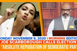 JOE SCARBOROUGH CALLS ELECTION A REPUDIATION OF DEMOCRAT PARTY | The Stewart Alastair Edition