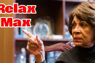 Maxine Waters attempts to intimidate & threaten Black men fleeing the Democratic Plantation.