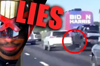Media LIES about Trump Train ATTACKING Biden Bus
