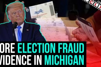 More Election Fraud Evidence In Michigan