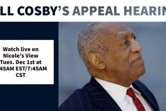 Nicole's View Live: Bill Cosby's Appeal Hearing Coverage