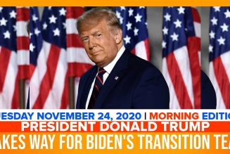 PRESIDENT DONALD TRUMP MAKES WAY FOR BIDEN'S TRANSITION TEAM | The Stewart Alastair Edition