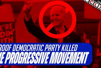 """Proof That The Democratic Party Killed The """"Progressive Movement"""""""