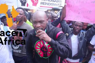 SEUN KUTI WELCOME BACK IN NIGERIA AS HE ANGRILY BLAST BUHARI GOVERNMENT AT ENDSARS PROTEST