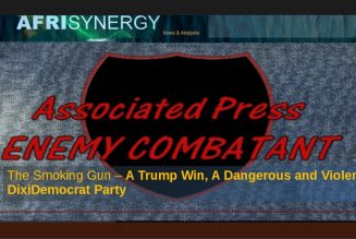 The Smoking Gun – A Trump Win, A Dangerous and Violent DixiDemocrat Party
