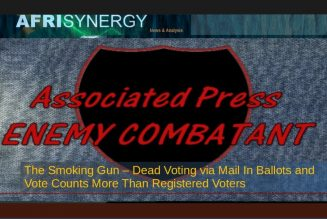The Smoking Gun – Dead Voting via Mail In Ballots and Vote Counts More Than Registered Voters