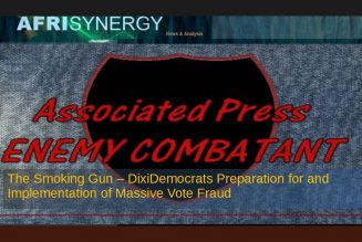 The Smoking Gun – DixiDemocrats Preparation for and Implementation of Massive Vote Fraud