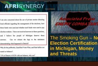 The Smoking Gun – No Election Certification in Michigan, Money and Threats
