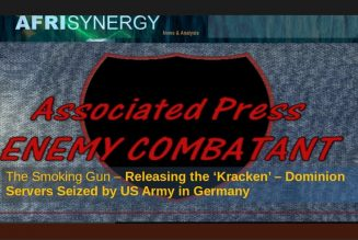 The Smoking Gun – Releasing the 'Kracken' – Dominion Servers Seized by US Army in Germany
