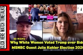 Why So Many White Women Voted for Trump over Biden – MSNBC Guest Julie Kohler Election 2020