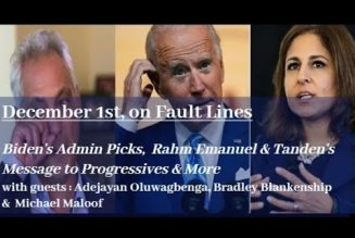 Biden Picks, Rahm Emanuel & Tanden Sends Clear Signal Left: Get F*cked. China Post Soviet Union