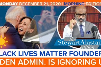 BLACK LIVES MATTER FOUNDERS: BIDEN ADMIN. IS IGNORING US | The Stewart Alastair Edition
