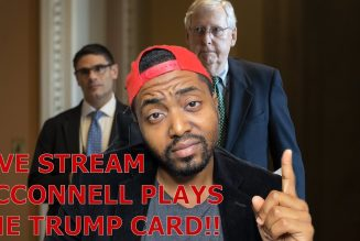 BREAKING: Mitch McConnell Plays The Trump Card.. 2K Stimulus Bill W/ 230 Repeal & Election Inquiry