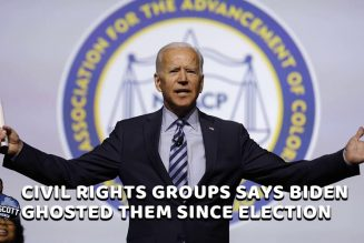 Civil Rights Groups Feel Ghosted By Jim Crow Joe