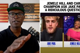 Jemele Hill Asks Jake Paul A CRAZY Question About Nate Robinson Fight!