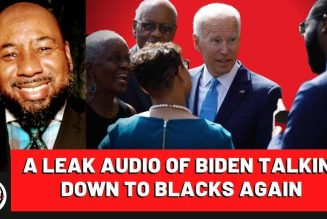 Joe Biden Caught Again Down Talking Black Community Leaders