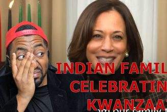Kamala Harris Gives SUPER CRINGEY FAKE Story On How She Celebrated Kwanzaa With Her Indian Family
