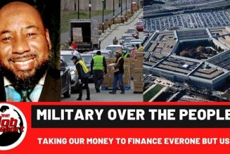 MILITARY OVER PEOPLE