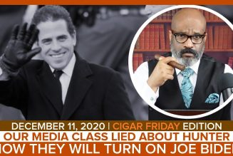 OUR MEDIA CLASS LIED ABOUT HUNTER NOW THEY WILL TURN ON JOE BIDEN  | The Stewart Alastair Edition
