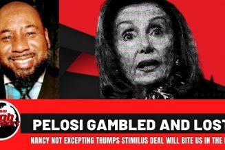 PELOSI GAMBLED AND LOST  #stimulas