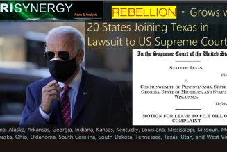 REBELLION – Grows with 20 States Joining Texas in Lawsuit to US Supreme Court