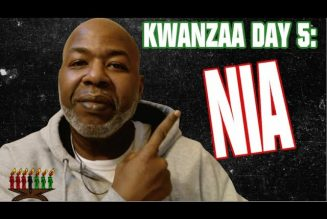 THE FIFTH PRINCIPLE OF KWANZAA: NIA