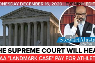 "THE SUPREME COURT WILL HEAR NCAA ""LANDMARK CASE"" PAY FOR ATHLETES 