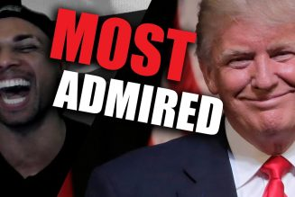 Trump BEATS Obama for MOST ADMIRED MAN of 2020