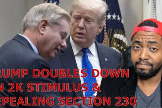 Trump & Graham DOUBLE DOWN On 2K Stimulus Checks & Section 230 DEMAND! GOP Senate Leader SPEAKS Out!