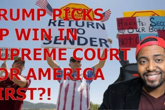 Trump Picks Up Potential AMERICA FIRST WIN In Supreme Court That Could Kneecap Democrat Voting Power