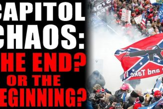 1-9-2021: Capitol Chaos: The End? Or The Beginning