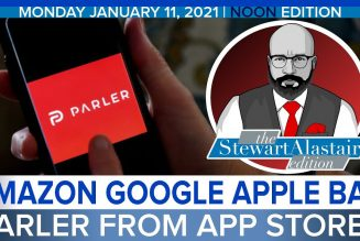 AMAZON GOOGLE APPLE BAN PARLER FROM APP STORES | The Stewart Alastair Edition