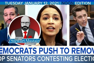 DEMOCRATS PUSH TO REMOVE GOP SENATORS CONTESTING ELECTION | The Stewart Alastair Edition