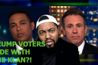 Don Lemon & Cuomo: All Trump Voters Side W/ White Supremacists & People Who Stormed The Capitol