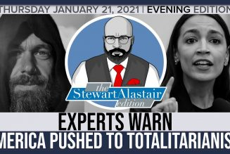 EXPERTS WARN AMERICA BEING PUSHED TO TOTALITARIANISM | The Stewart Alastair Edition
