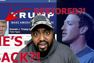 Facebook FOLDS As Trumps Page Is REACTIVATED After Collectively LOSING $51 Billion With Twitter