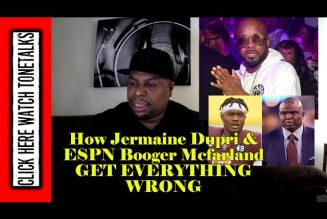 HOW Jermaine Dupri & ESPN Booger Mcfarland GET EVERYTHING WRONG