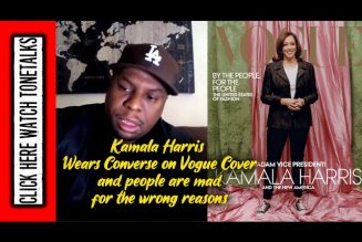 Kamala Harris wears Converse on Vogue Cover & people are mad for the wrong reasons