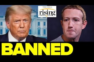 Krystal and Saagar REACT: Facebook BANS Trump For The Rest Of His Term