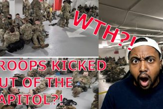 OUTRAGEOUS! National Guard BANISHED To DC Parking Lot After Being Forced To Leave Capitol!