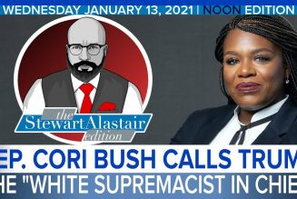 "REP. CORI BUSH CALLS TRUMP THE ""WHITE SUPREMACIST IN CHIEF"" 