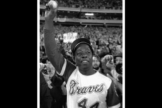 REST IN BLEACHERS to the Home Run King, King Henry Louis Aaron, #44!