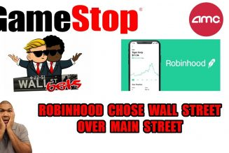 Robinhood Restricts Buying In GameStop To Manipulate The Stock Price Lower Against WallStreetBets