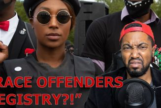 "Sasha Johnson Leader of BLM Group Calls For Creation of ""Race Offenders"" Registry"